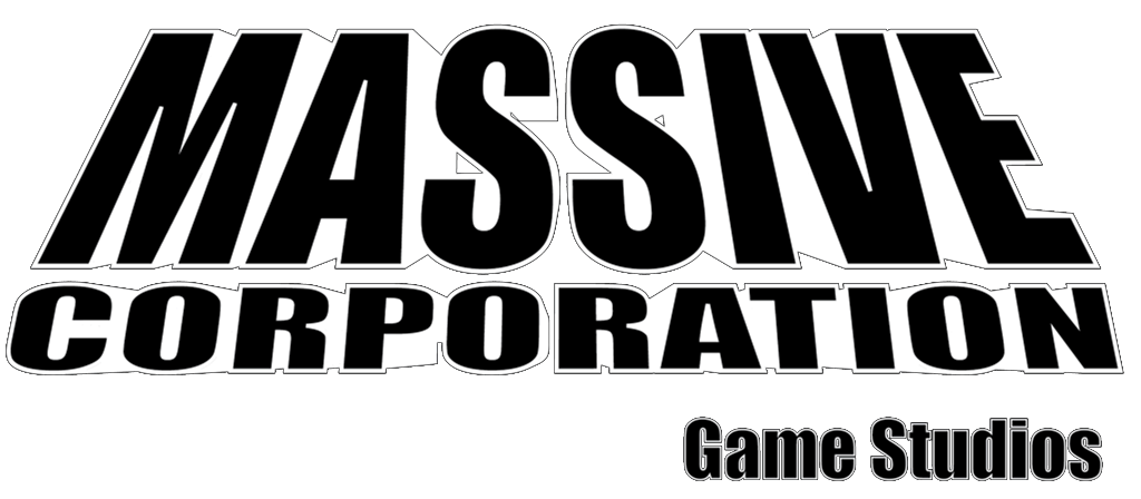 Massive Corporation Game Studios official logo 2019